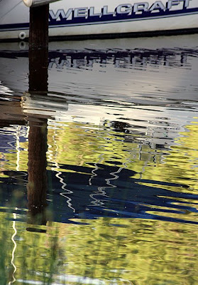 Boatyard Reflections - Severn River (Maryland)