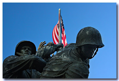 Marine Corps War Memorial - Arlinton VA