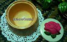 coklat box -round shape-flower