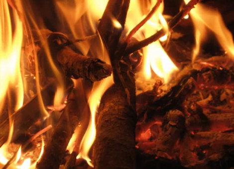 Fuego del Temazcal Inipi Baño de Vapor