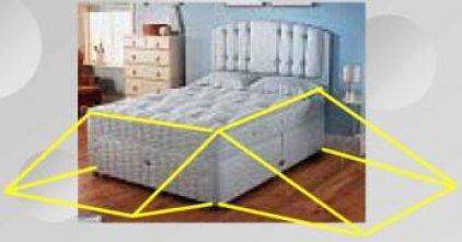 Triangulo vida cama
