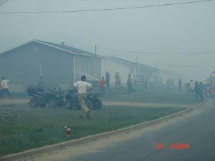 incendio forestal wemotaci mayo 2010