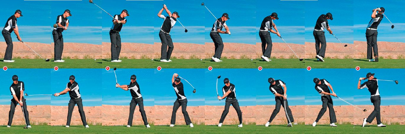 golfing sequenceTiger Woods Swing Sequence