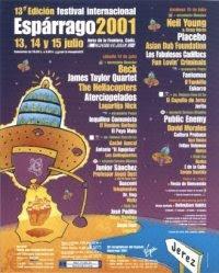 Espárrago Rock 2001