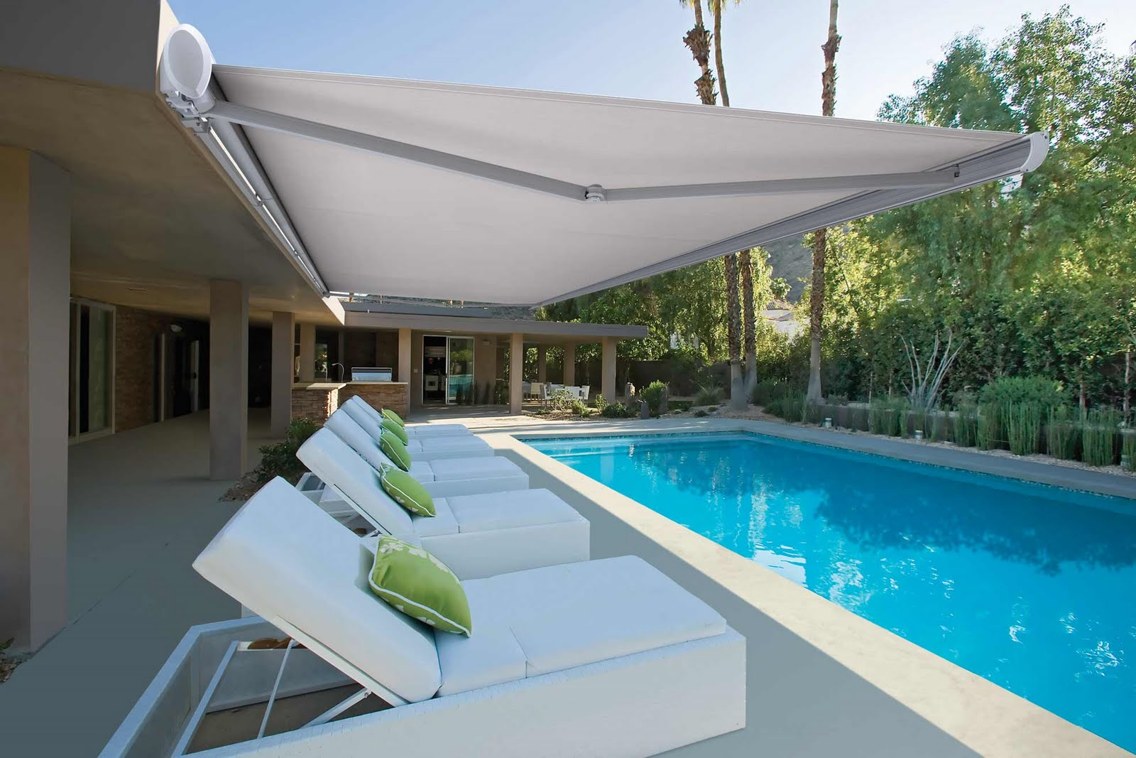 luxaflex australia new awnings add european flair to your alfresco living space. Black Bedroom Furniture Sets. Home Design Ideas