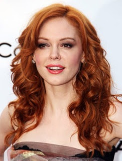 rose mcgowan red hair