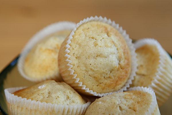 grädda muffins i ugn