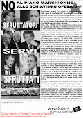 Locandina contro il fascismo Fiat