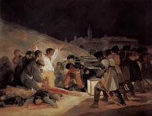 """""""Los fusilamientos del tres de mayo"""" de Francisco de Goya"""