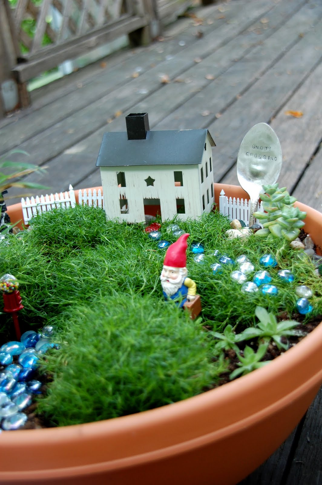 If You Had A Mini Garden, What Type Of Whimsical Things Would You Use For  Decoration?