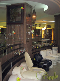 Sanitary Showroom Display Cabinets