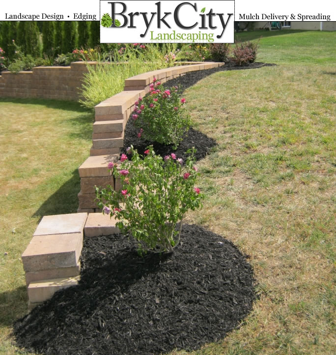 Landscaping Bark Delivery : Bryk city landscaping latham ny mulch delivery