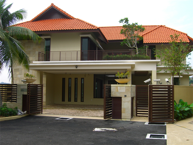 Maintaining a bungalow at senawang negeri sembilan for Best house design malaysia