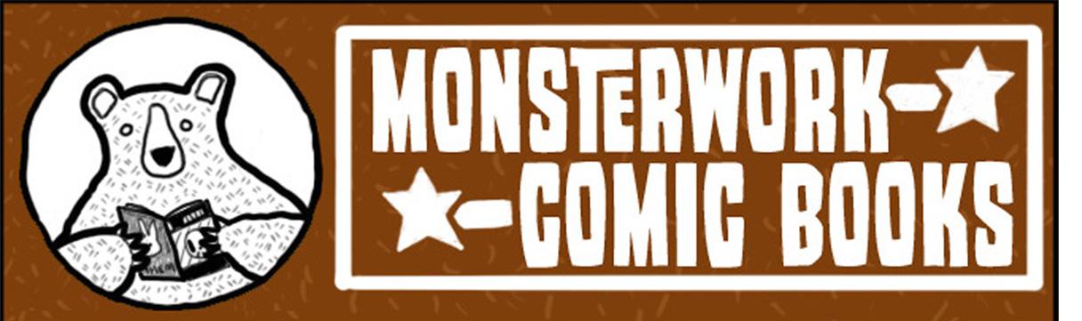 Monsterwork Comic Books
