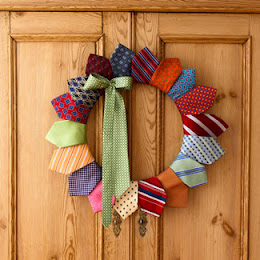 guirlanda de gravatas