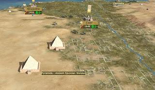 Египетские пирамиды в играх