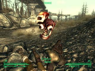 прикольная картинка из игры Fallout 3