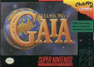 Игра для SNES Illusion of Gaia