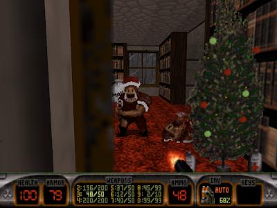 Санта Клаус в играх