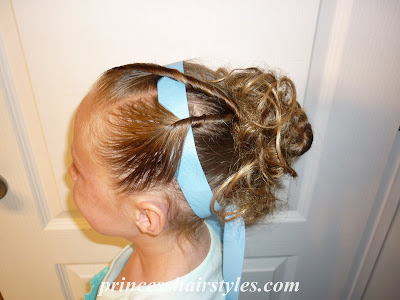 dance hairdo with headband