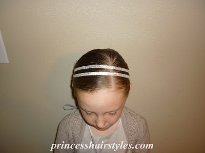 double ribbon headband