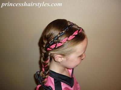 ribbon braids