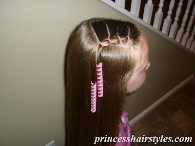 Double three-inch Sidewinder Hairholders