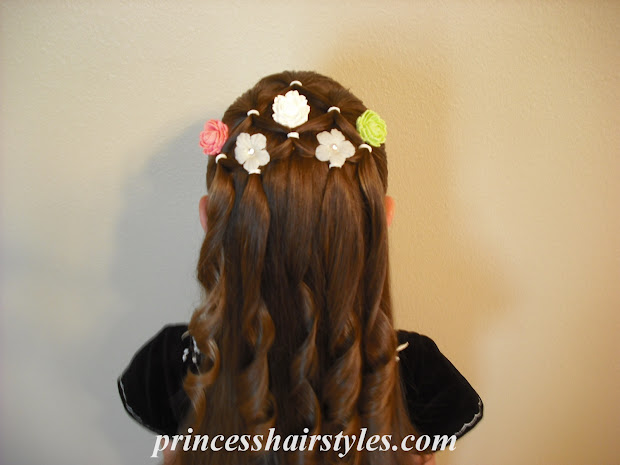flower girl hairstyle - hairstyles