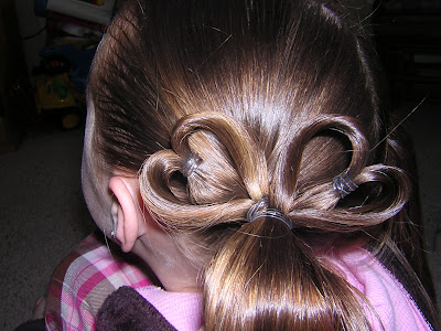 Or, if you want to make some messy buns out of them like we did.