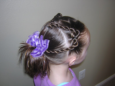 braided hairstyles for girls. Twist Braid Heart