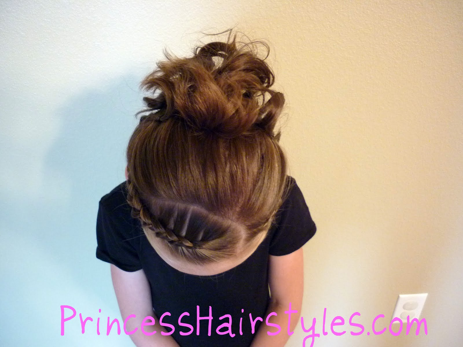 Sarah Michelle Gellar Braided Updo | Beauty and the beast