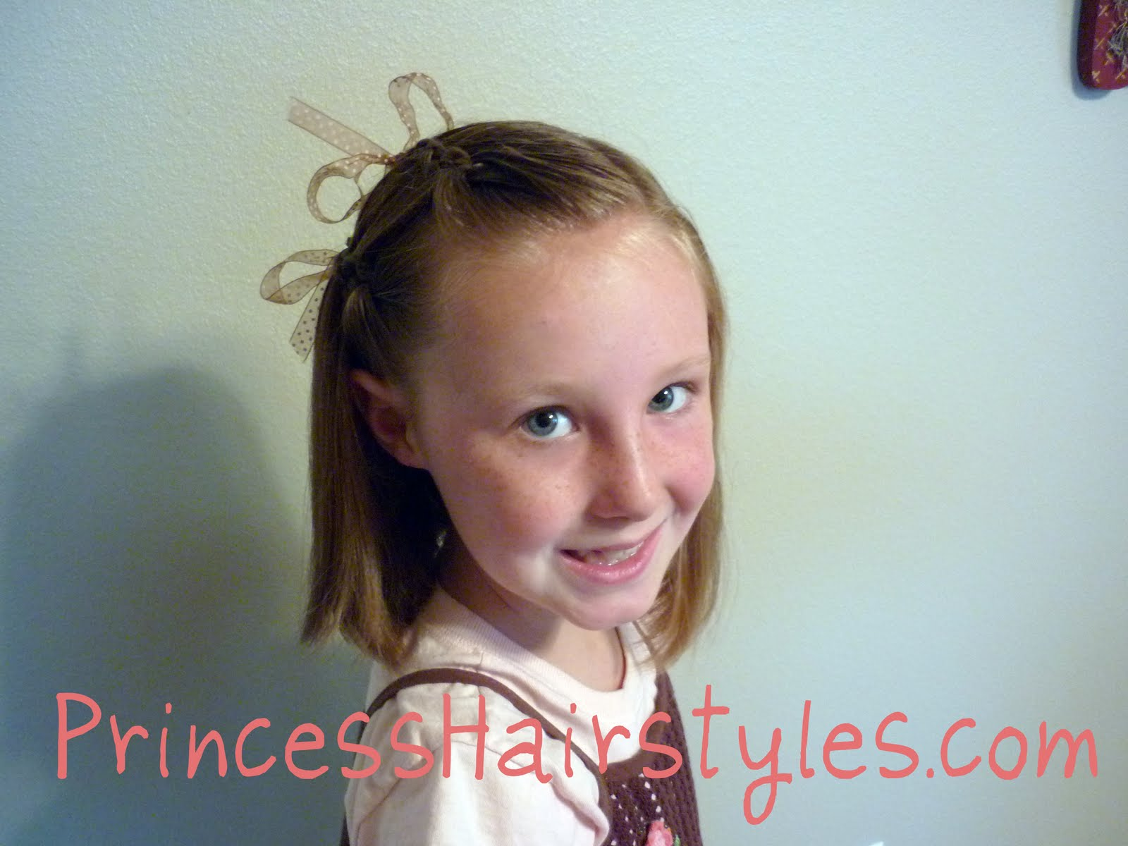 Pageant hairstyles for little girls short hair 10