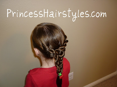 rope braid hairdo