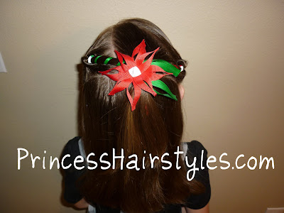 christmas hair for little girls