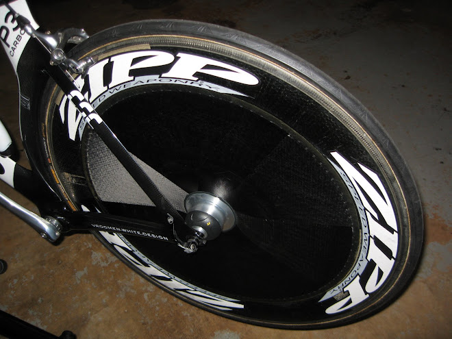 Zipp Sub-9 Disc:  Fastest rear wheel out there