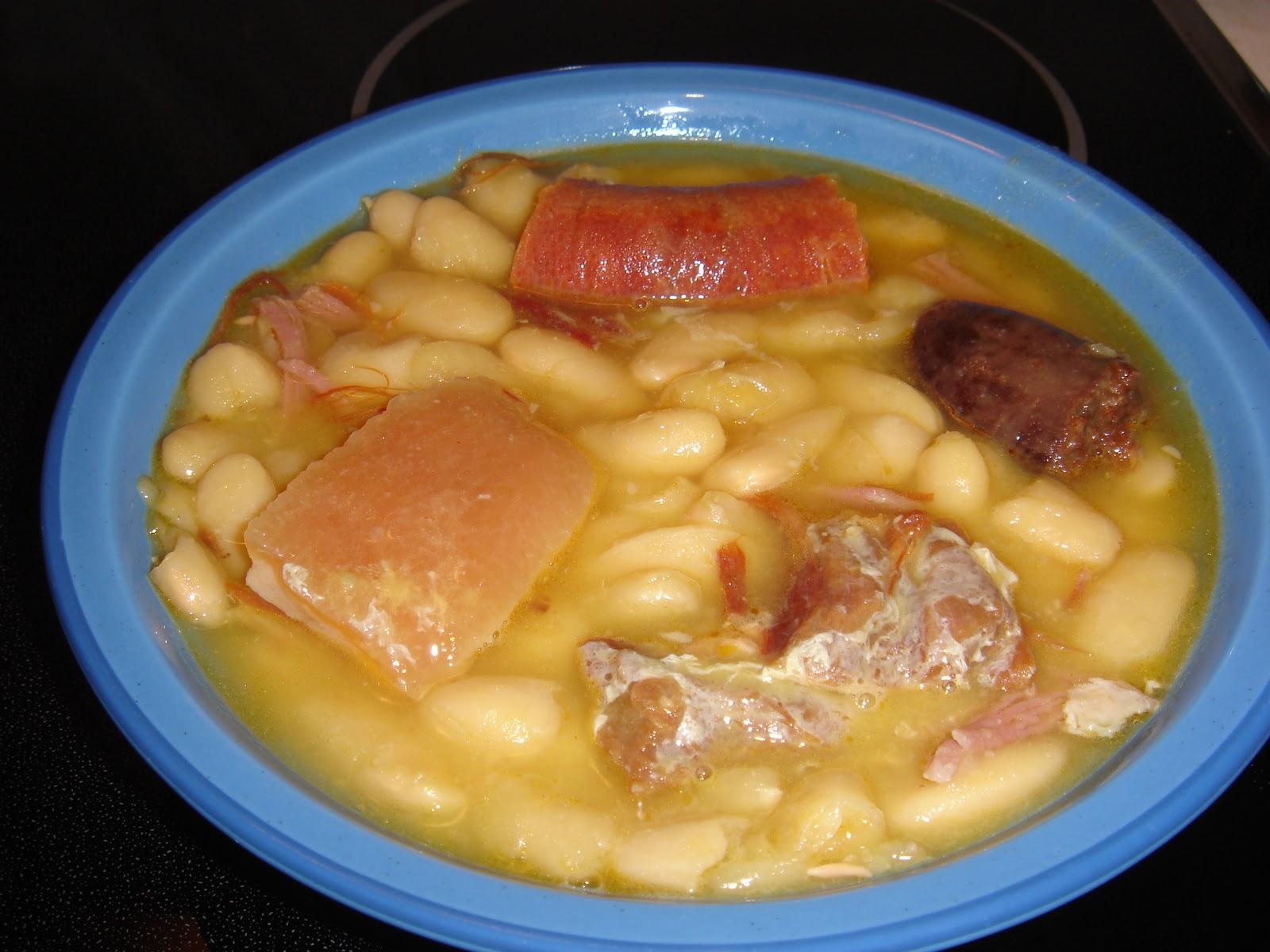 te invito a cocinar fabada asturiana