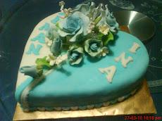 Fondant Cake 5