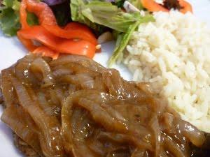 Camille cuisine foie de boeuf aux oignons - Cuisiner le foie de boeuf ...