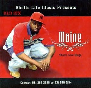 Cover Album of MAINE - GHETTO LOVE SONGS