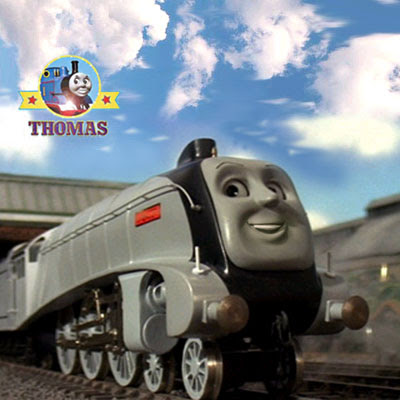 Jigsaw Spencer tank engine from Sodor Thomas game for kids