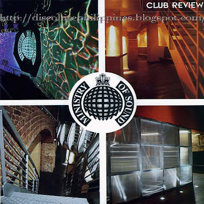 Night clubbers guide Ministry Of Sound system and exciting lighting decor dance floor club rooms