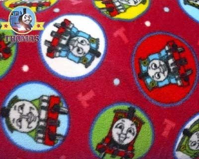 February 2010 train thomas the tank engine friends free for Train themed fabric