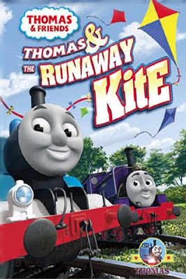 Steam train Thomas & the Runaway Kite film on DVD featuring complete CG Digital animation pictures