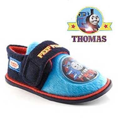 Little toddler and childrens clothing Thomas tank slipper footwear shoes great for all Thomas fans