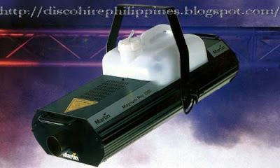 10 DJ Martin Professional Magnum Pro 2000 uses microprocessor based technology in a fog mist machine