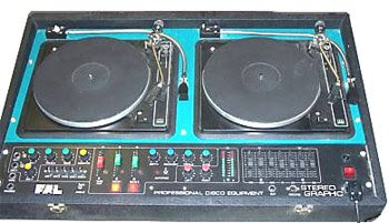 FAL TWIN DECKS PROFESSIONAL DISCO EQUIPMENT