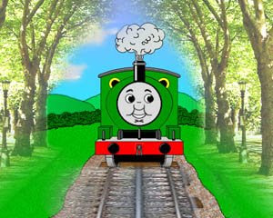 Thomas the tank engine Percy the train picture