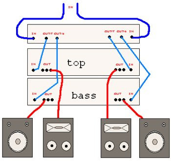 2 way crossover wiring diagram