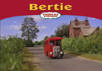 Bertie the bus at the county bus station