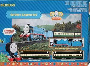 Tank engine Gordon express trian set by bachmann railway toys